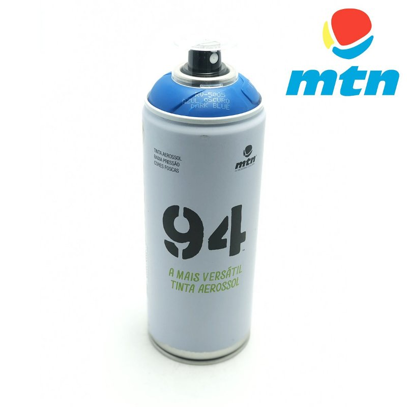 TINTA SPRAY MONTANA 94 400ml AZUL ESCURO