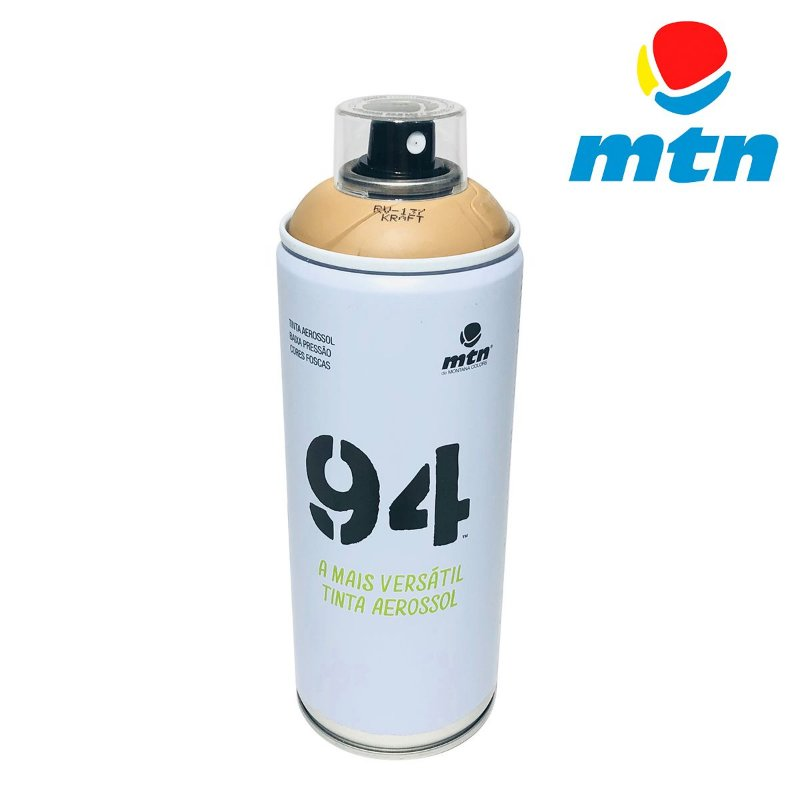 TINTA SPRAY MONTANA 94 400ml MARROM KRAFT