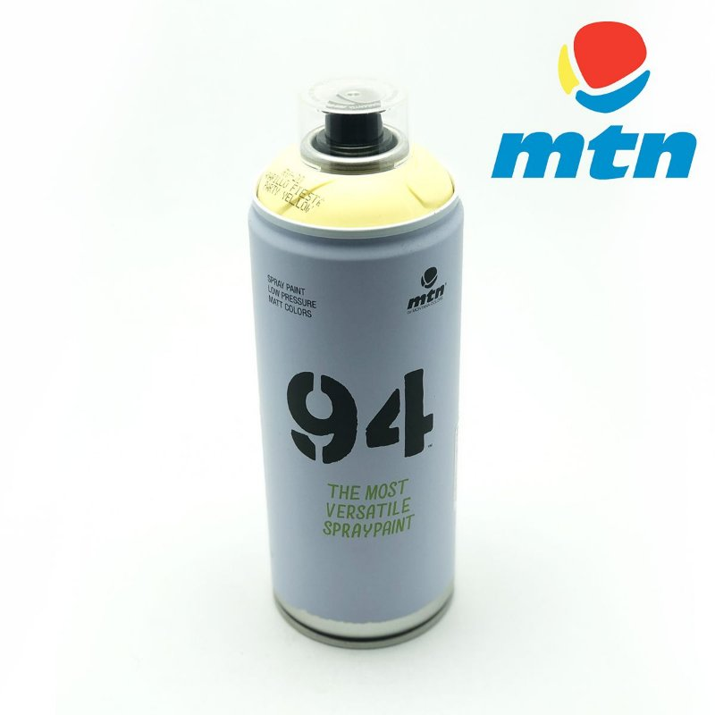TINTA SPRAY MONTANA 94 400ml AMARELO FIESTA
