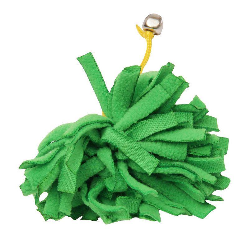 Brinquedo Para Gato Ecológico Pompom Verde