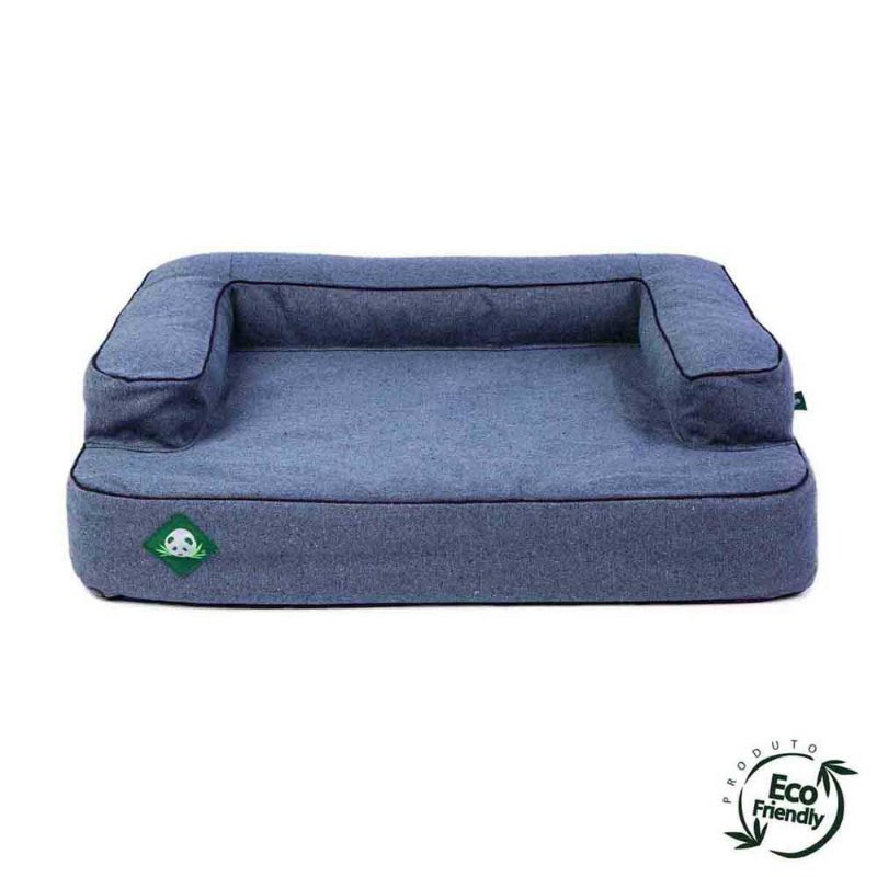 Cama Sofá Ecológico Para Cachorro - 100% Jeans