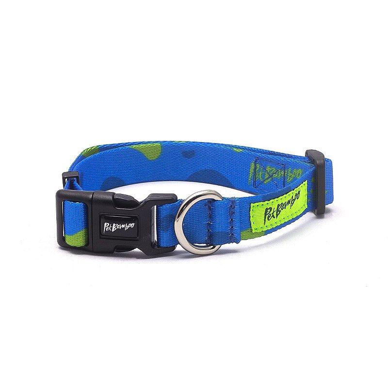 Coleira Para Cachorro PetBamboo - Azul