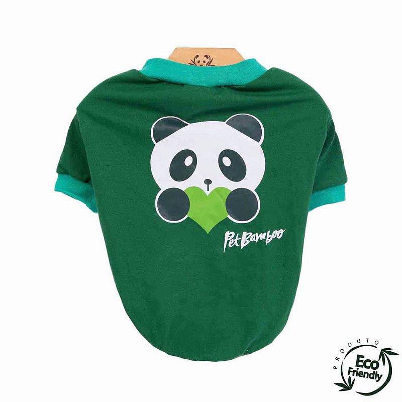 Camiseta Malha Ecológica - Verde