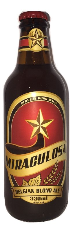 Cerveja Miraculosa Blond Ale - 330ml