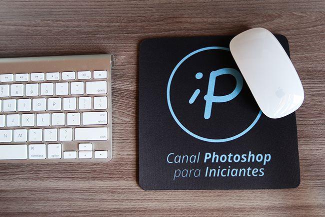 Mousepad do Canal Photoshop para Iniciantes