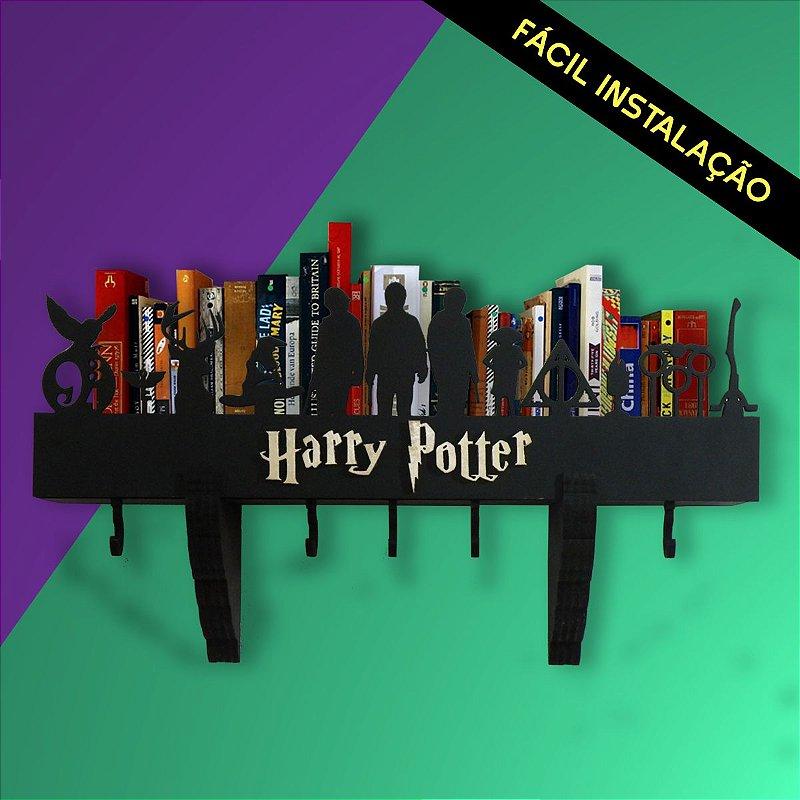 Prateleira E Cabideiro 3d Harry Potter