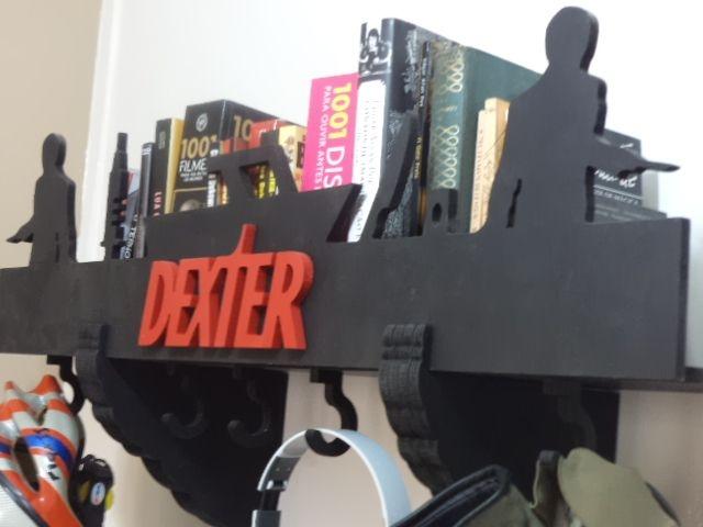 Prateleira E Cabideiro 3d Dexter