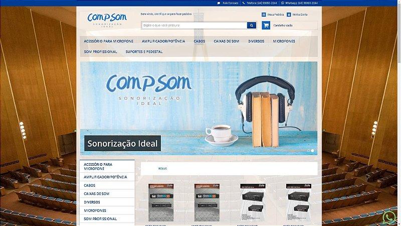Loja Virtual modelo COMPSOM