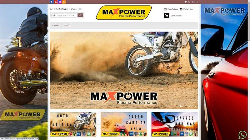 Loja Virtual modelo MAXPOWER