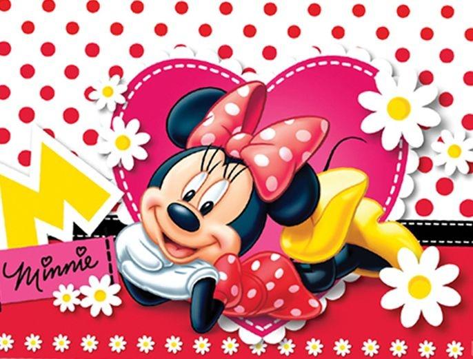 Minnie vermelha 001 a4 papel arroz especial - Image de minnie ...