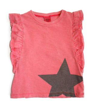 5482bfca9 Camisa Frufru Cuti Star - CutiCutiBaby - Roupas e Acessórios para ...