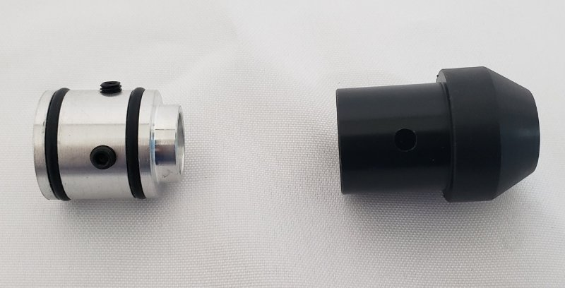 Bucha interna e ponteira  para canos 14,6mm