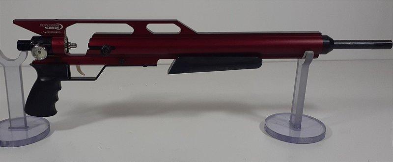 """KIT PCP Custon GIII Vermelho + Cano Original de 19"""" 5.5mm + Valvula de Alto Fluxo"""