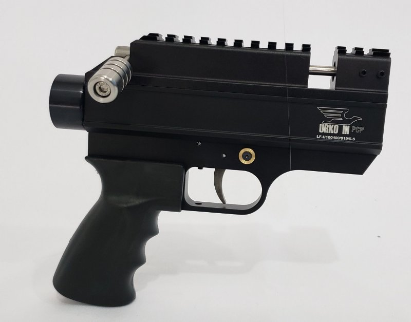KIT URKO III Ambidestro  5,5 mm – Preto (Envio em 10 Dias)