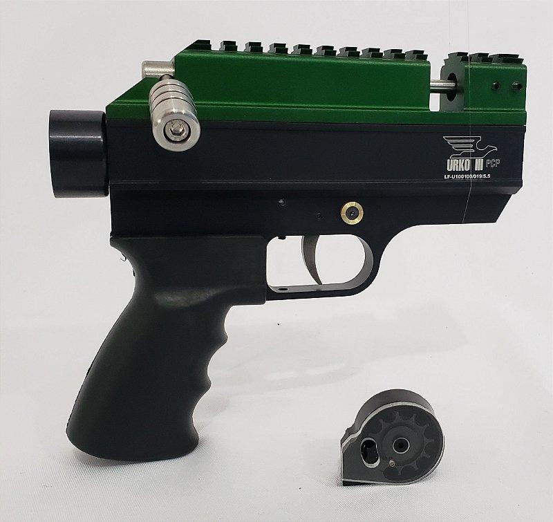 KIT URKO III Ambidestro  5,5 mm – Verde (Envio em 10 Dias)