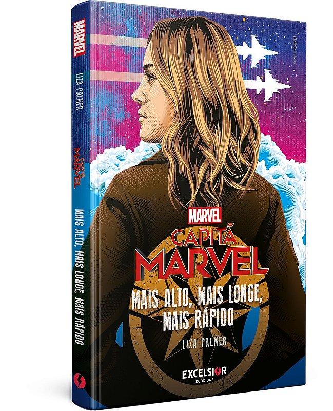 Capitã Marvel: mais alto, mais longe, mais rápido