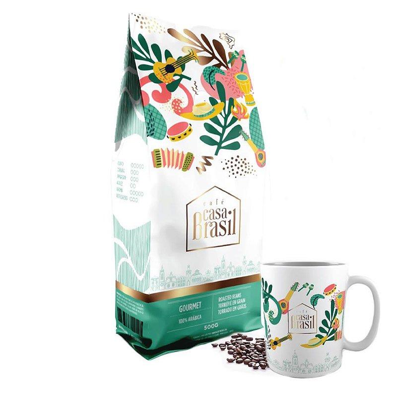 Kit Café Casa Brasil
