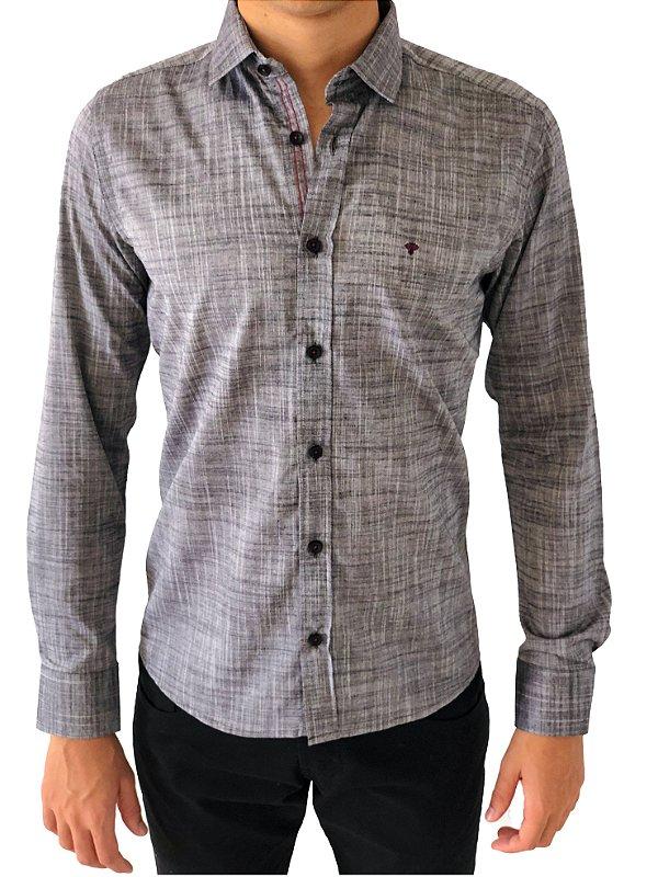 Camisa Linho Slim