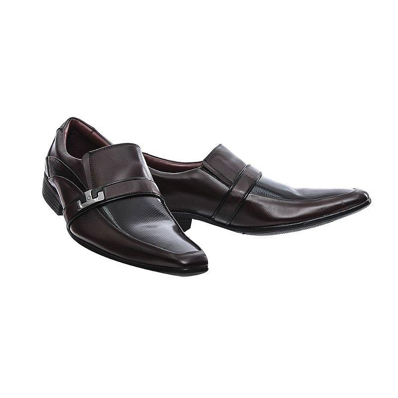 Sapato Social New York Karmell Marrom