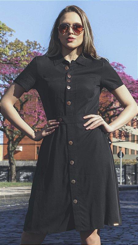 Vestido Evangélico Márcia Preto