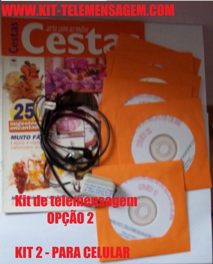 Kit 2 - telemensagem para Celular