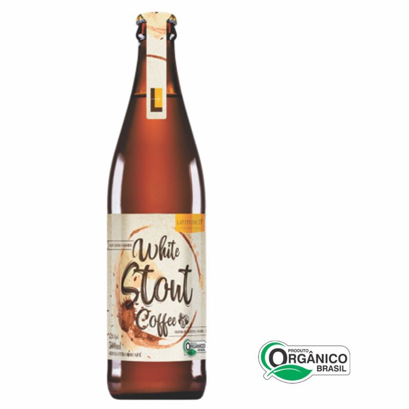 Cerveja Artesanal Orgânica Latitude 13 White Stout (500ml)