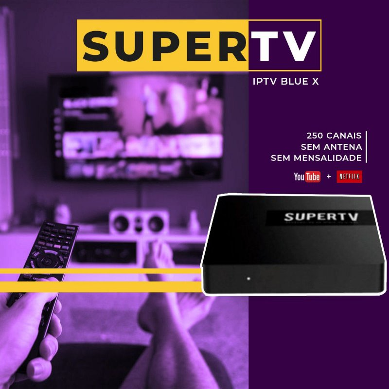 SUPER TV BLUE