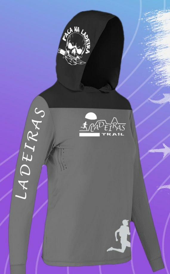 Camiseta Ladeiras - MANGA LONGA COM CAPUZ  - UNISSEX