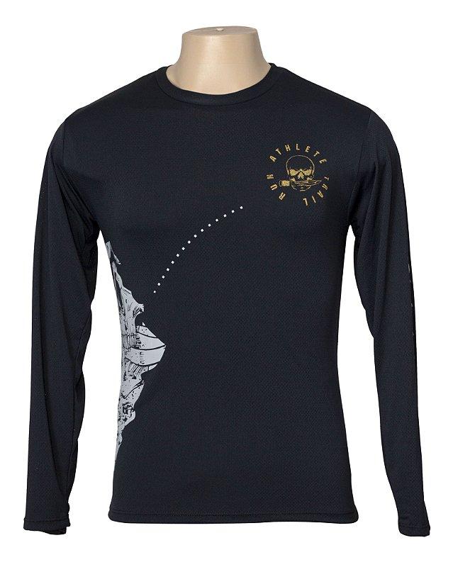 Camiseta Treino - Caveira Trail Run Baby Look