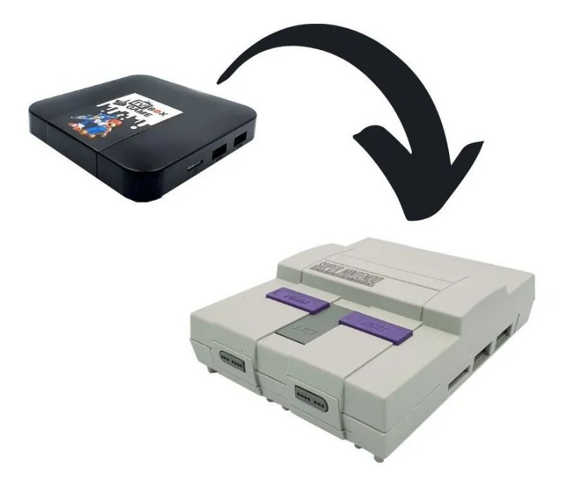 GameBox Super NES Case
