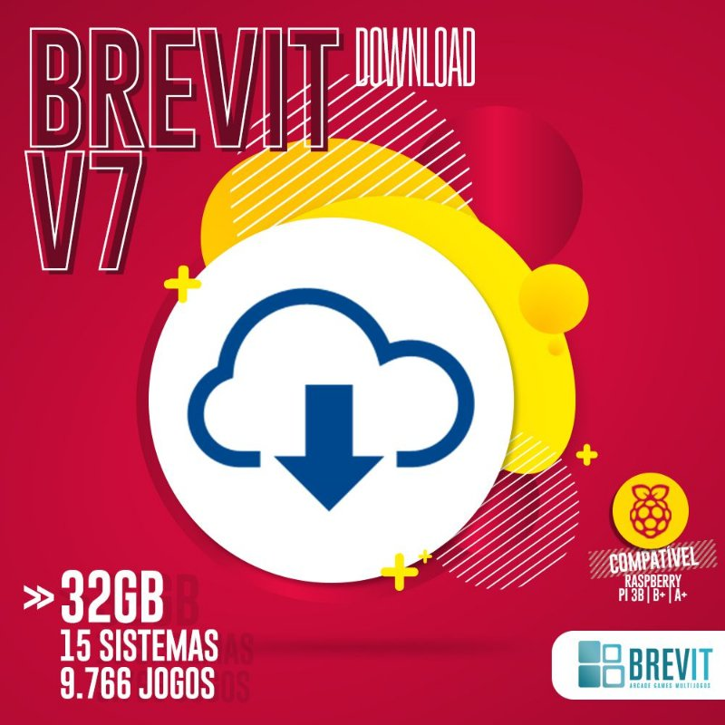 Sistema Brevit V7 32GB - Raspberry Pi 3 B e B+ - DOWNLOAD