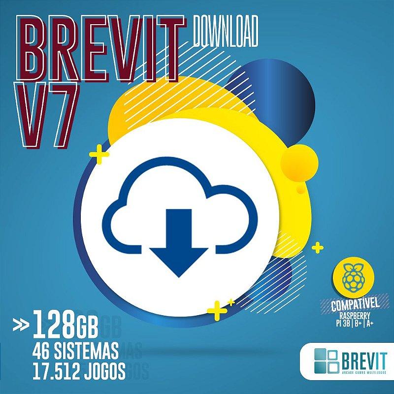 Sistema Brevit V7 128GB - Raspberry Pi 3 B e B+ - DOWNLOAD