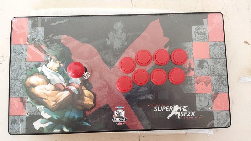 Controle Arcade 2ND IMPACT - RYU