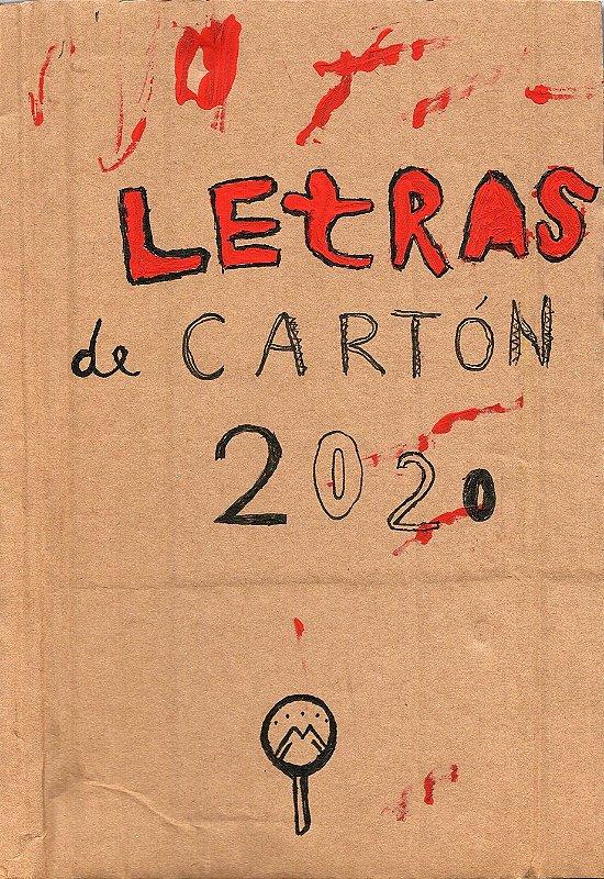 Letras de Cartón (Letras de Papelão) 2020