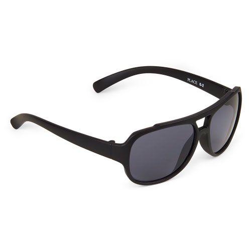 fe29b97912290 Óculos de sol preto com proteção solar 2 a 4 anos - THE CHILDREN´S ...