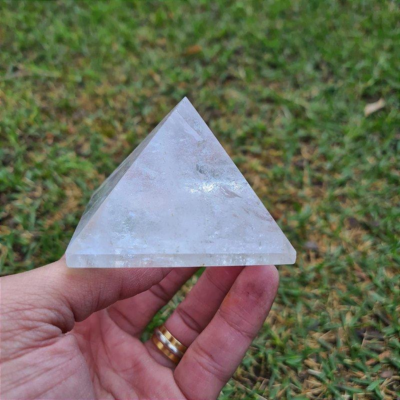 Pirâmide Cristal  5,5cm x 6,5cm