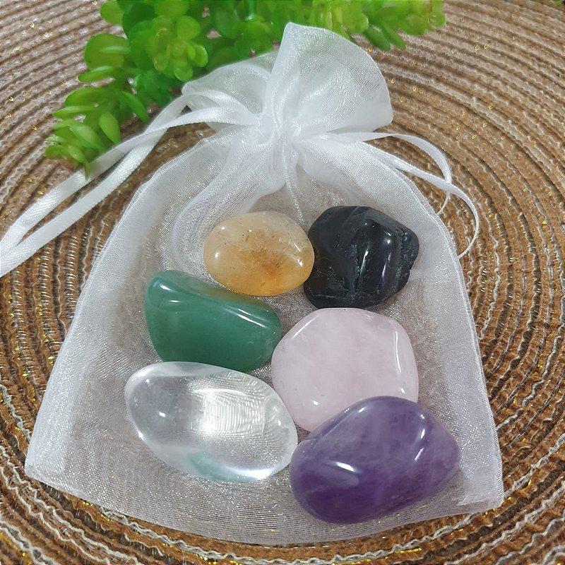 Kit de Pedras Naturais - Equilíbrio
