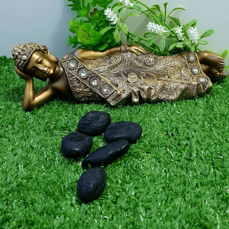 Turmalina Negra Rolada (unidade) | 3cm x 1cm