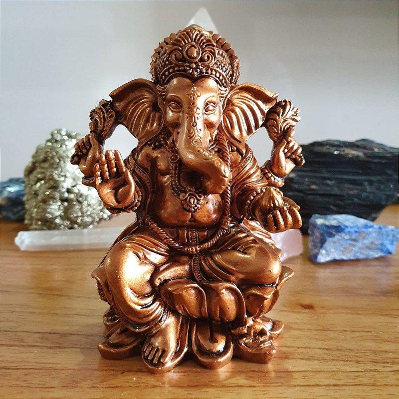 Ganesha Bronze 14 cm