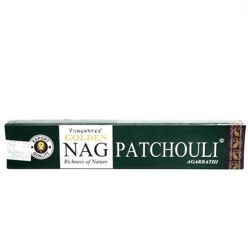 Incenso Golden Nag Massala Agarbathi - Nag Golden Patchouli