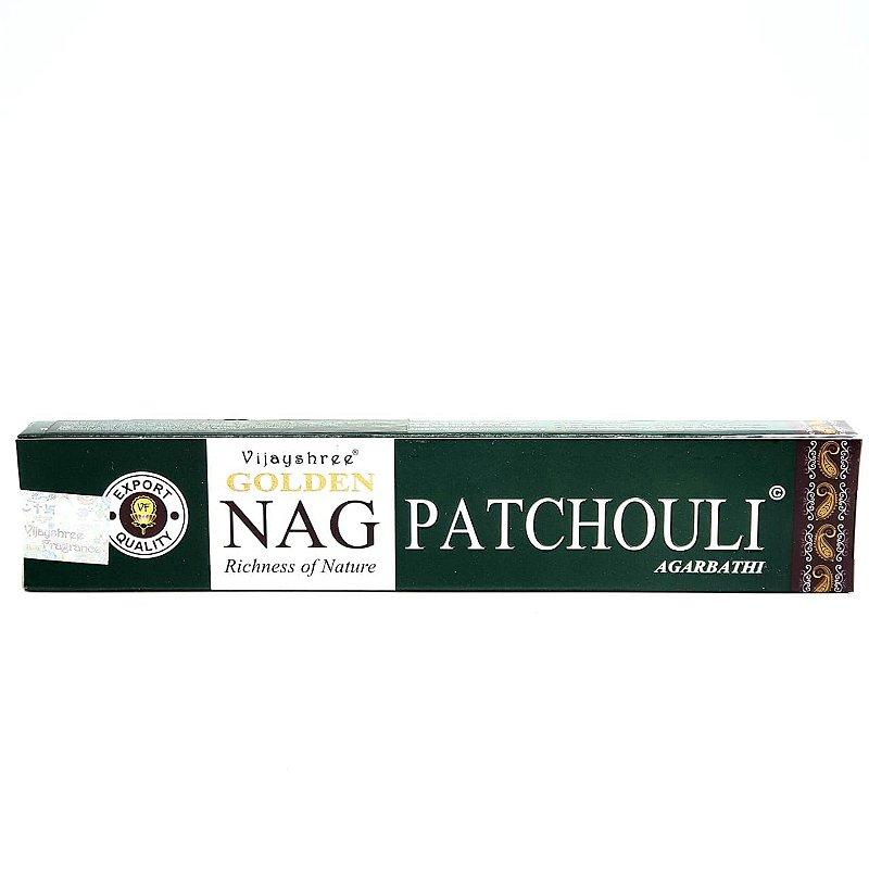 Incenso Golden Nag Massala Agarbathi - Nag Golden Patchouli