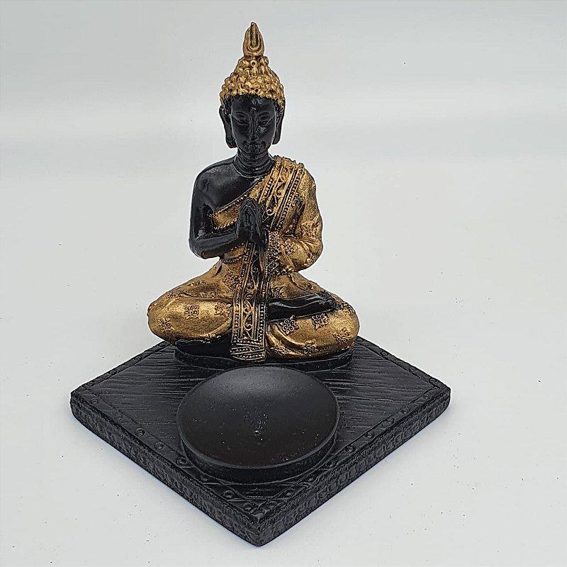 Incensário Buda Tibetano 13 cm