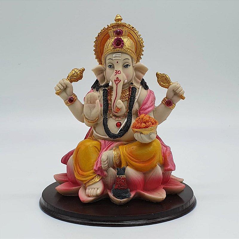 Ganesha Lotus 17cm