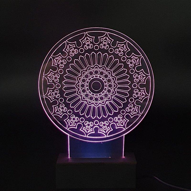 Luminária Mandala 16