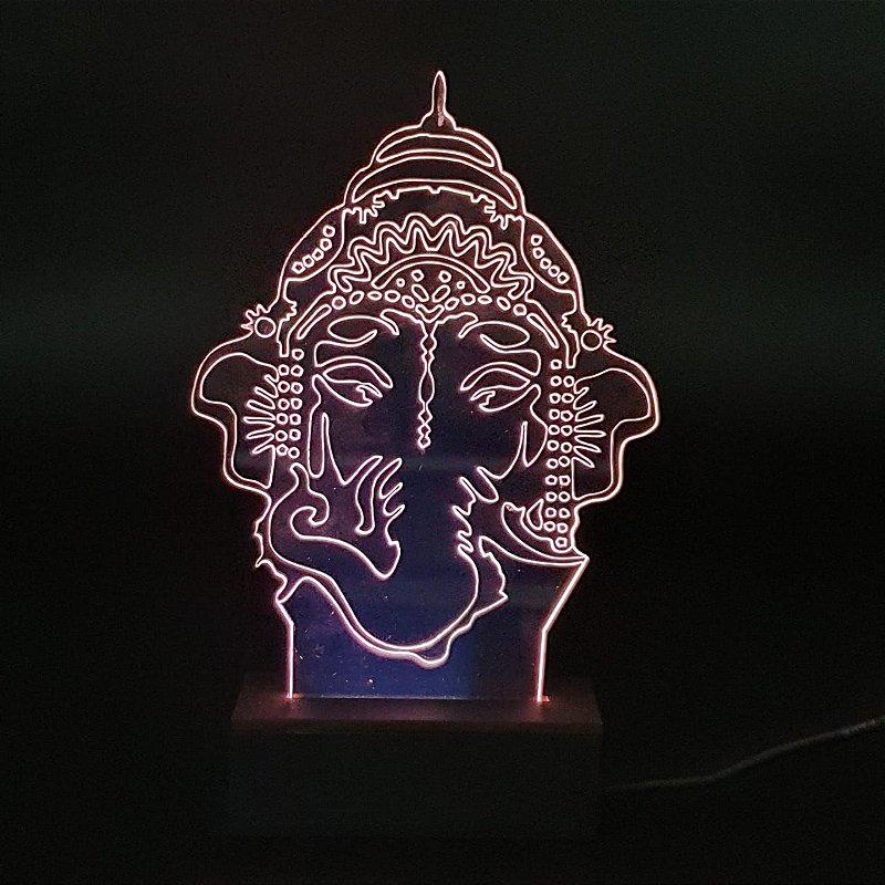Luminária Ganesha 19 cm