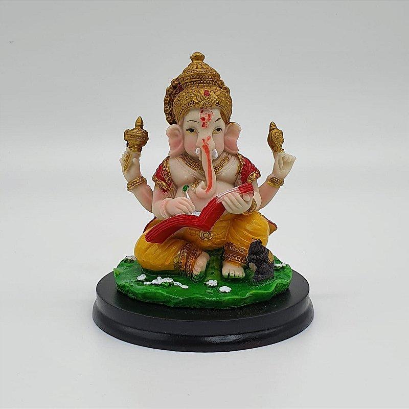 Ganesha Livro 11cm