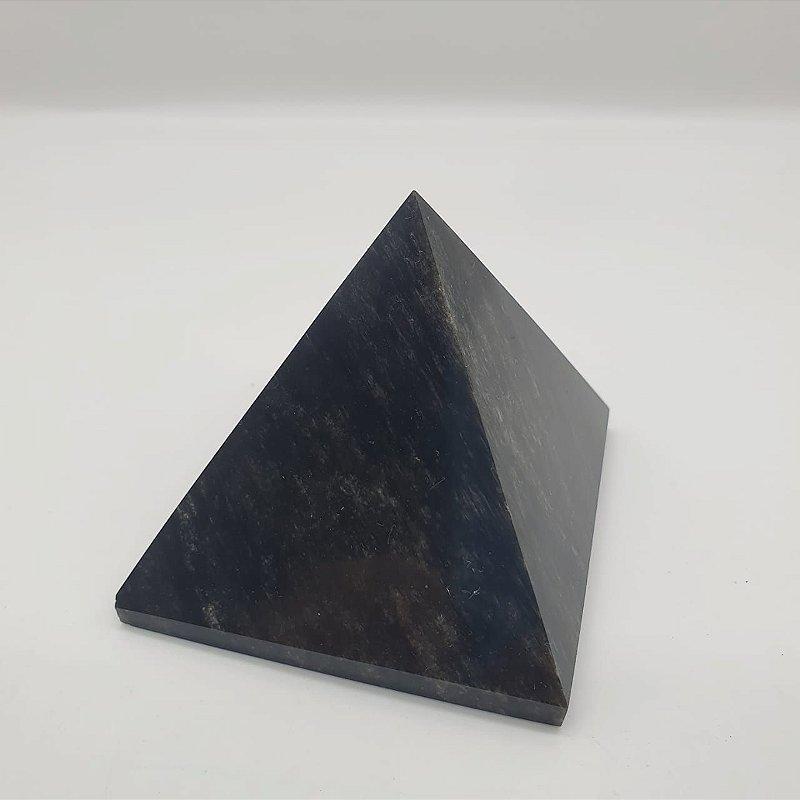 Pirâmide de Obsidiana | A6,5cm x L6,5cm x P6,5cm | P 220g