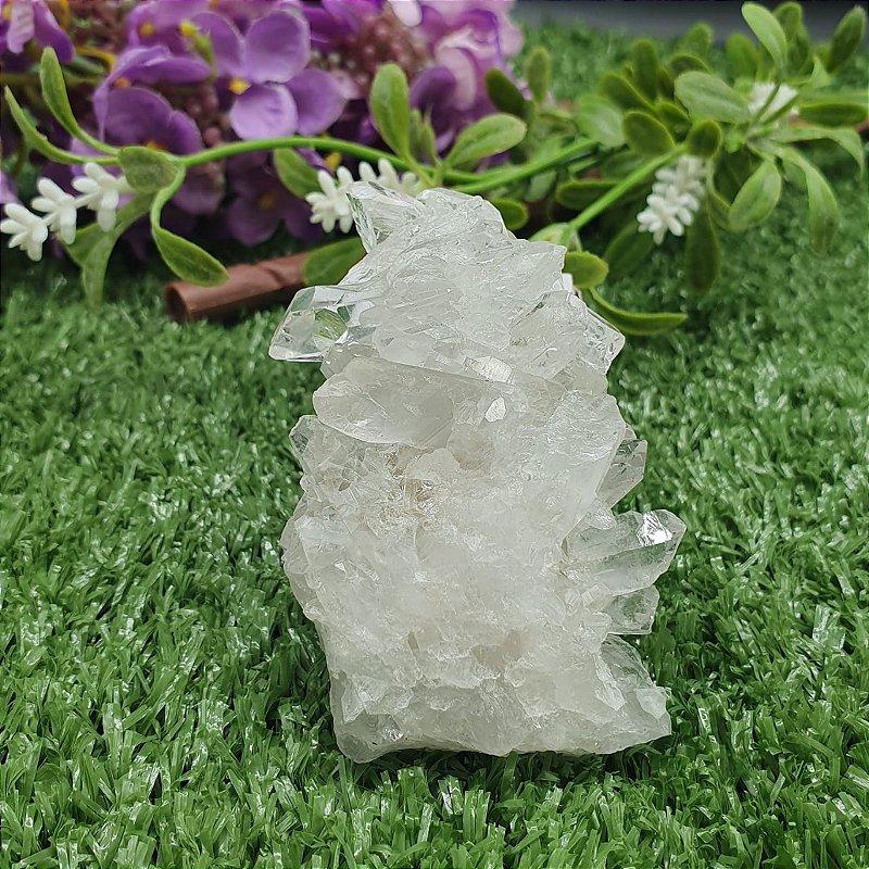Drusa de Cristal - Qualidade Especial | A2,5cm x L6cm x P7cm | P 95g