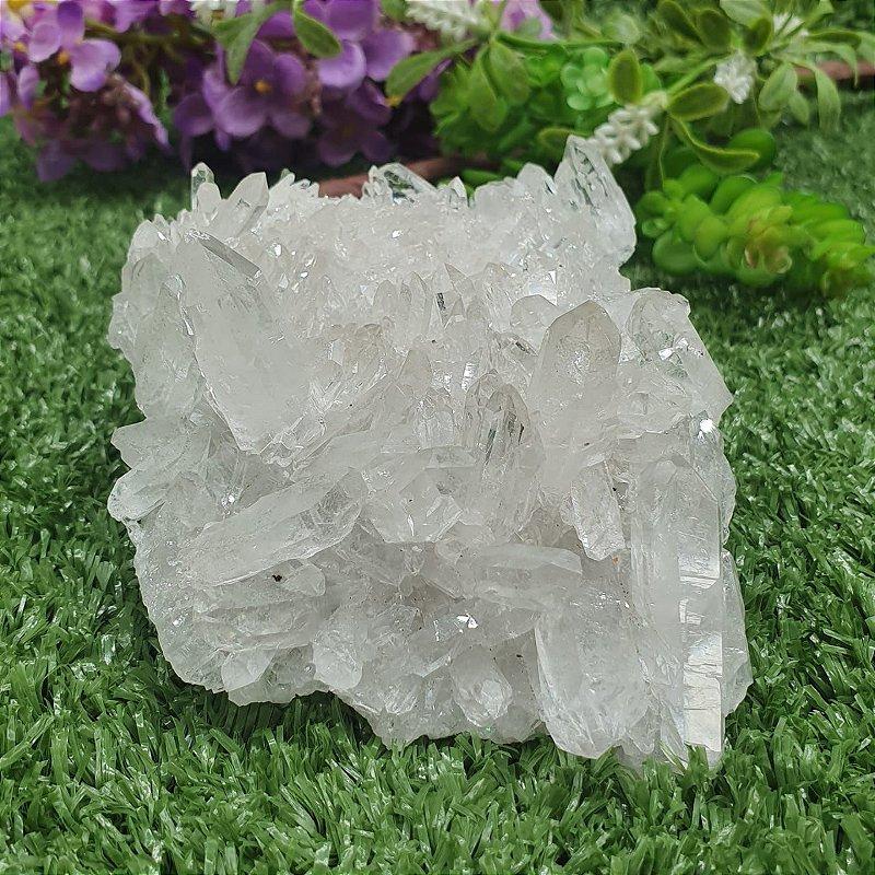 Drusa de Cristal - Qualidade Extra Especial | A4cm x L8cm x P12cm | P 278g