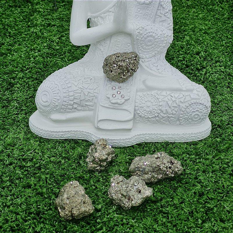 Pedra Pirita Bruta (unidade) | 4cm x 1cm aprox.